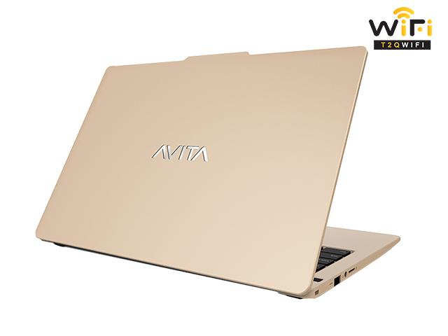 Laptop Avita LIBER V14 màu vàng unicorn gold hỗ trợ người dùng hiệu quả