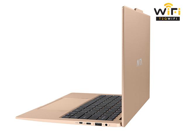 Laptop Avita LIBER V14 màu vàng unicorn gold sang trọng với tính năng thông minh