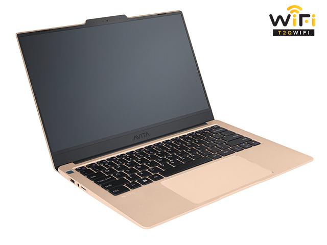 Laptop Avita LIBER V14 màu vàng champagne gold sang trọng