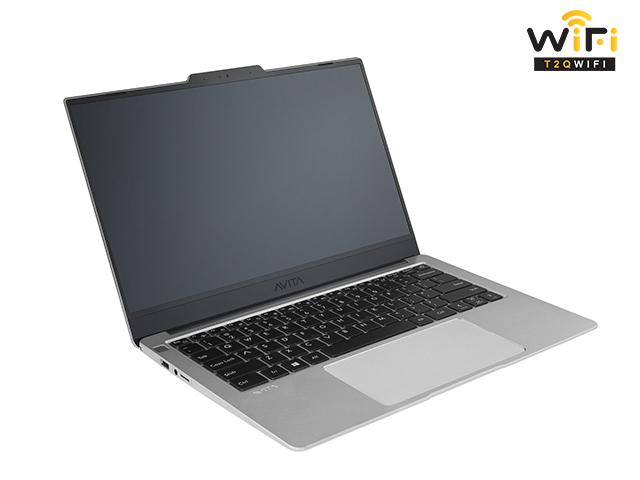 Laptop Avita LIBER V14 màu bạc space gray sang trọng và tinh tế