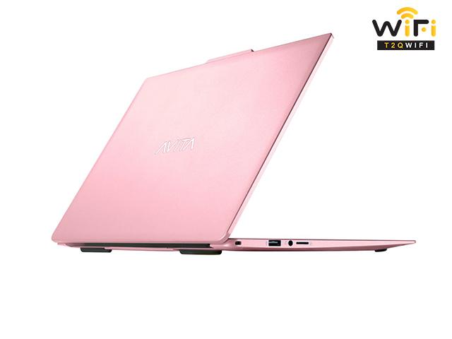 Laptop Avita LIBER V14 màu hồng blossom pink với linh kiện chính hãng
