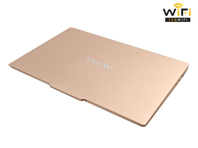 Mẫu Laptop Avita LIBER V14 màu vàng champagne gold thông minh