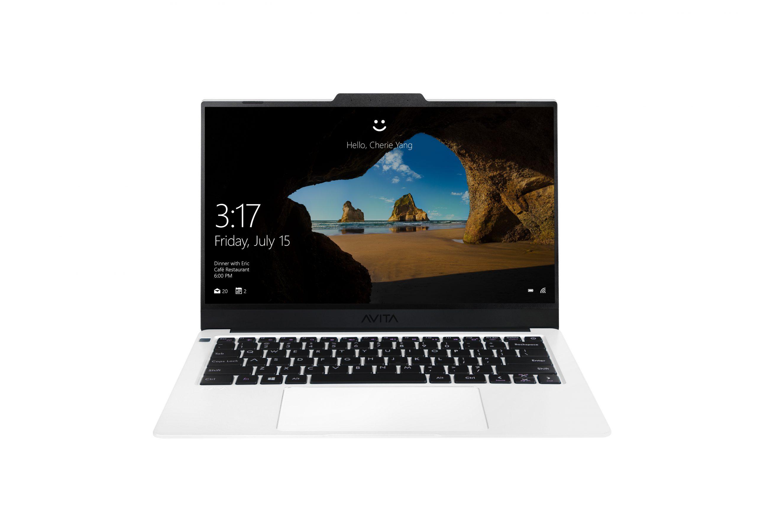 Laptop AVITA LIBER V 14 – Màu Trắng Pearl White – INTEL CORE I7-10510U/RAM 8GB/ SSD 1TB/ Win 10 Home BẢO HÀNH 24 THÁNG – TẶNG BALO – HÀNG CHÍNH HÃNG
