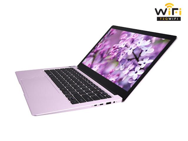 Laptop Avita LIBER V14 màu tím fragrant lilac với vỏ ngoài cứng cáp, màu sắc tinh tế