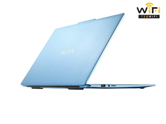 Laptop Avita LIBER V14 màu xanh angel blue đẹp, sang trọng
