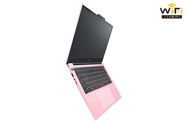 Laptop Avita LIBER V14 màu hồng đẹp thích hợp cho phái nữ