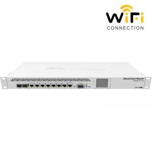 Thiết Bị Router cân bằng tải MIKROTIK CCR1009-7G-1C-1S+, Hỗ trợ 1000 user