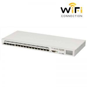 Thiết Bị Router cân bằng tải MIKROTIK CCCR1036-12G-4S, Hỗ trợ 2000 user