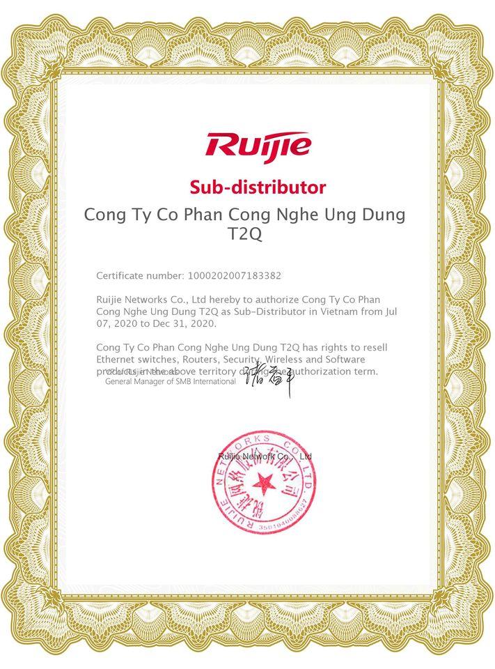 T2QWIFI chuyên cung cấp thiết bị RUIJIE RG-EG210G-P chính hãng, giá tốt nhất