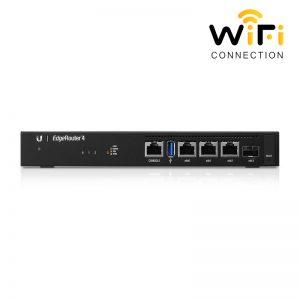 Thiết Bị Router cân bằng tải UBIQUITI EdgeRouter 4 (ER-4), tốc độ băng thông 4 Gbps