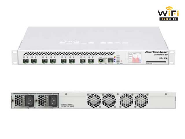 Địa chỉ chuyên cung cấp thiết bị Router Mikrotik CCR1072-1G-8S+ giá rẻ