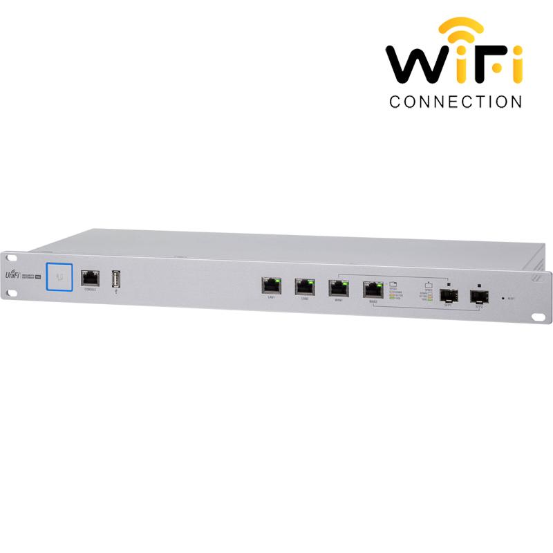 Thiết bị định tuyến an ninh mạng Ubiquiti UniFi Security Gateway Pro (USGPRO4)