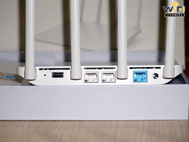 Kết nối thiết bị in ấn với cục router