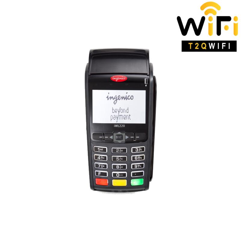 Máy thanh toán thẻ Pos INGENICO IWL220, kết nối 3G, GPRS, WIFI, BLUETOOTH CLASS 1