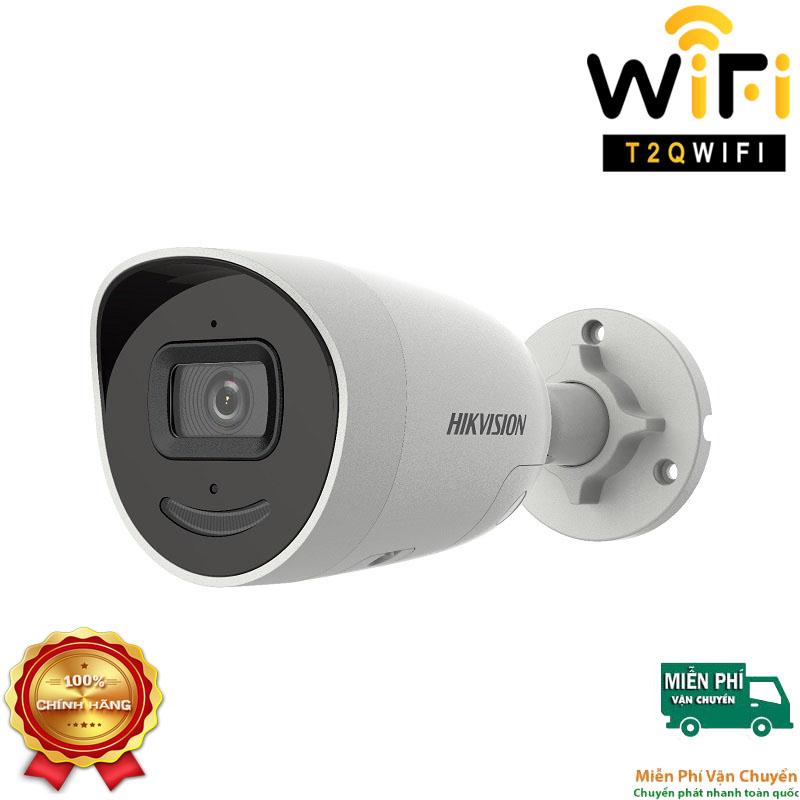 Camera IP AcuSense Thân thế hệ 2 2MP HIKVISION DS-2CD2026G2-IU/SL Chuẩn nén H.265+