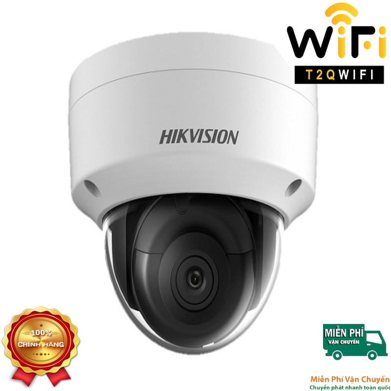 Camera IP Dome Hồng ngoại 2MP HIKVISION DS-2CD2123G0-IU Chuẩn nén H.265+