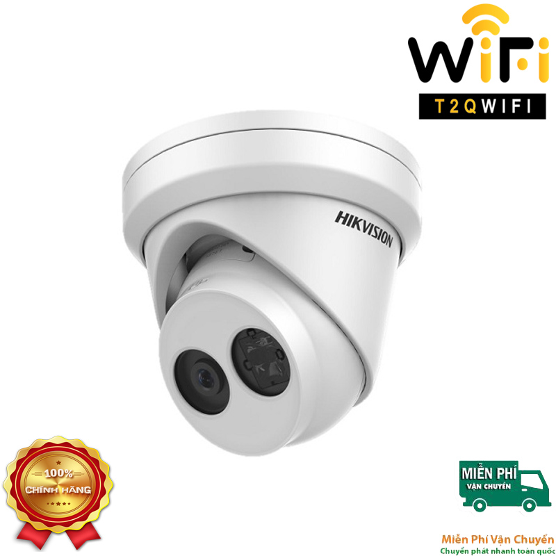 Camera IP Dome Hồng ngoại 2MP HIKVISION DS-2CD2323G0-IU Chuẩn nén H.265+
