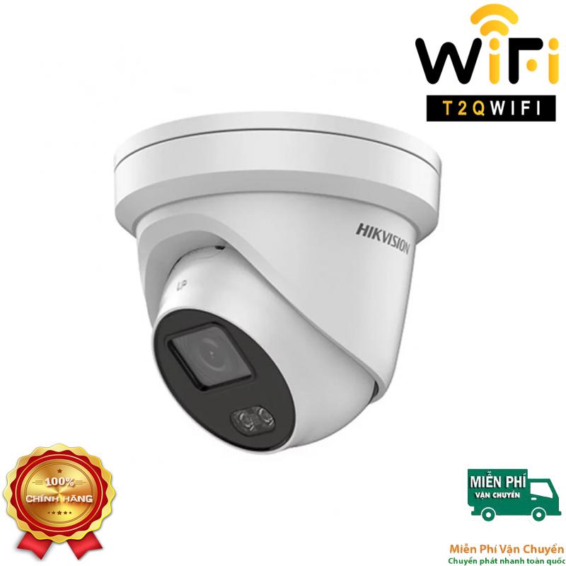 Camera IP COLORVU Dome 2MP HIKVISION DS-2CD2327G3E-L có màu 24/7, chuẩn nén H.265+