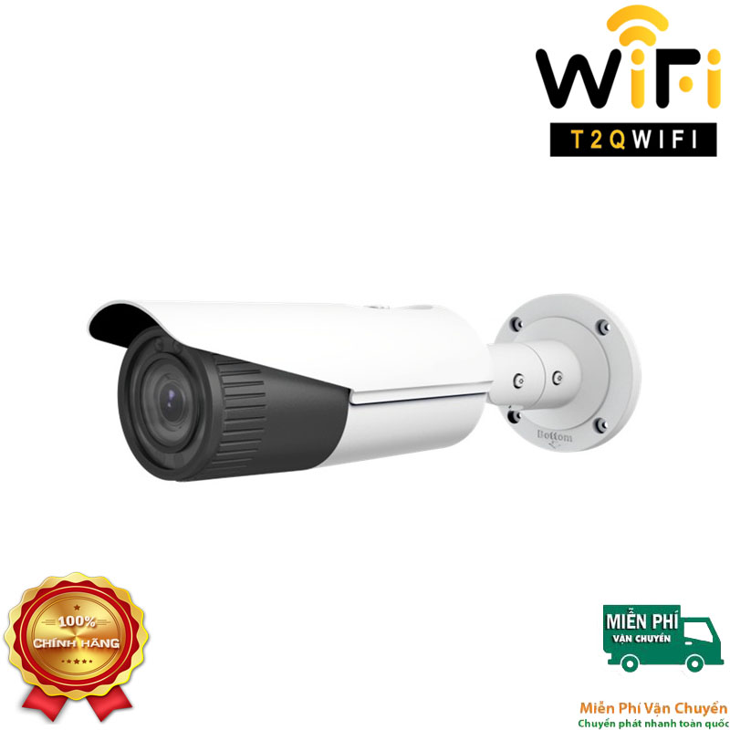 Camera IP Thân Hồng ngoại 2MP HIKVISION DS-2CD2621G0-I Chuẩn nén H.265+
