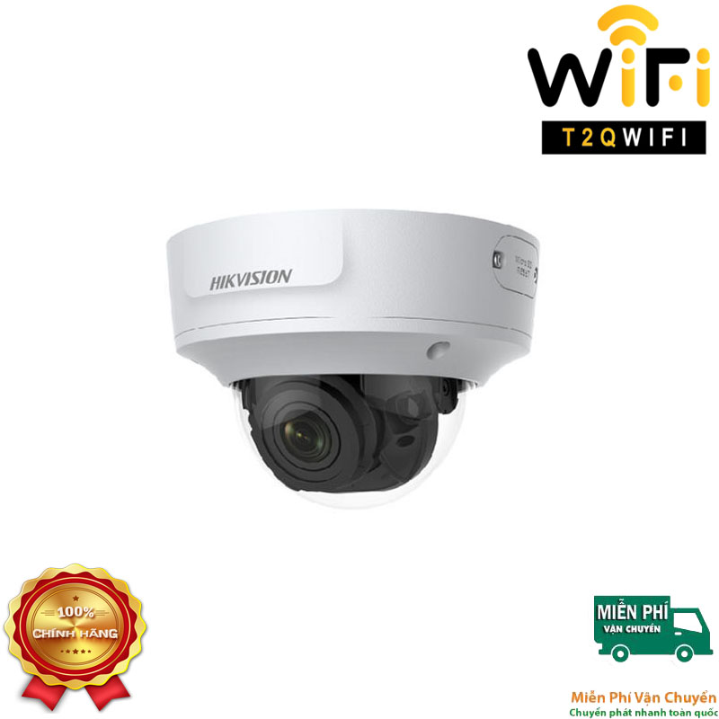 Camera IP Dome Hồng ngoại 2MP HIKVISION DS-2CD2721G0-I Chuẩn nén H.265+