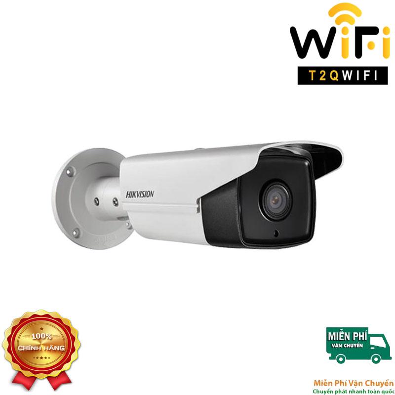 Camera IP Thân Hồng ngoại 2MP HIKVISION DS-2CD2T25FHWD-I8 Chuẩn nén H.265+