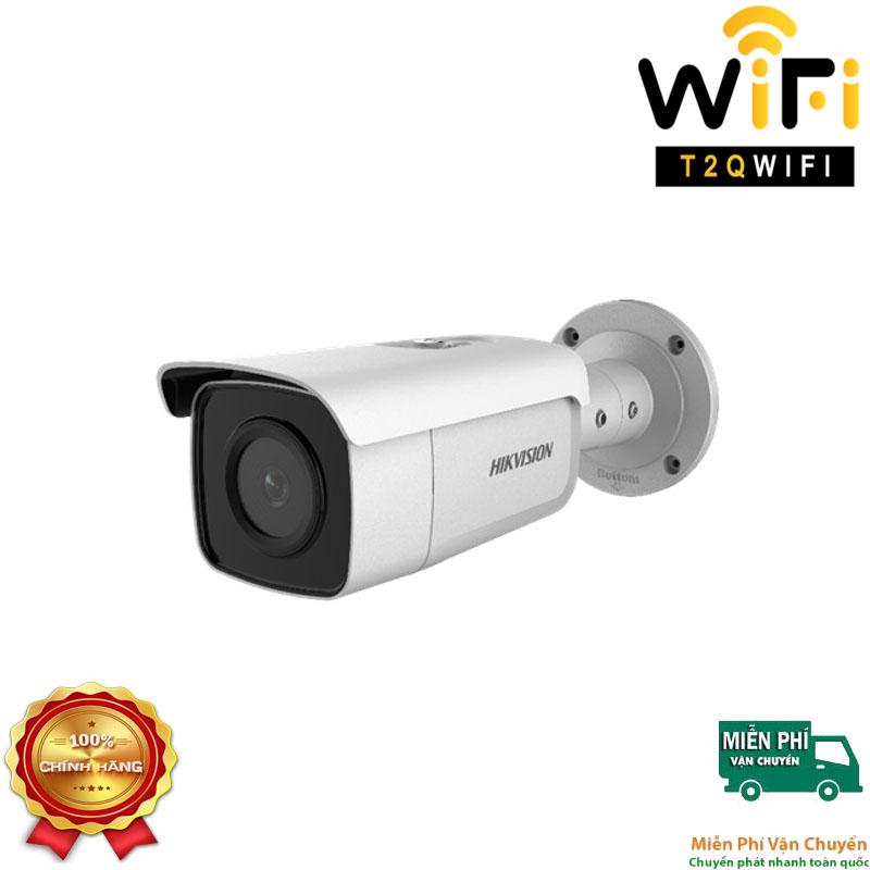 Camera IP AcuSense Thân thế hệ 2 4MP HIKVISION DS-2CD2T46G2-2I Chuẩn nén H.265+