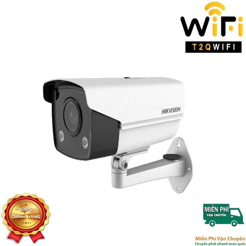 Camera IP COLORVU Thân 2MP HIKVISION DS-2CD2T27G3E-L có màu 24/7, chuẩn nén H.265+