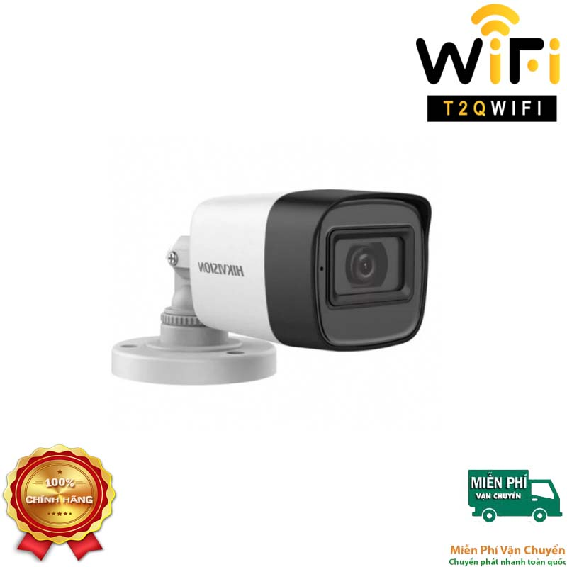 Camera HD-TVI Thân TÍCH HỢP MIC 2MP HIKVISION DS-2CE16D0T-ITFS