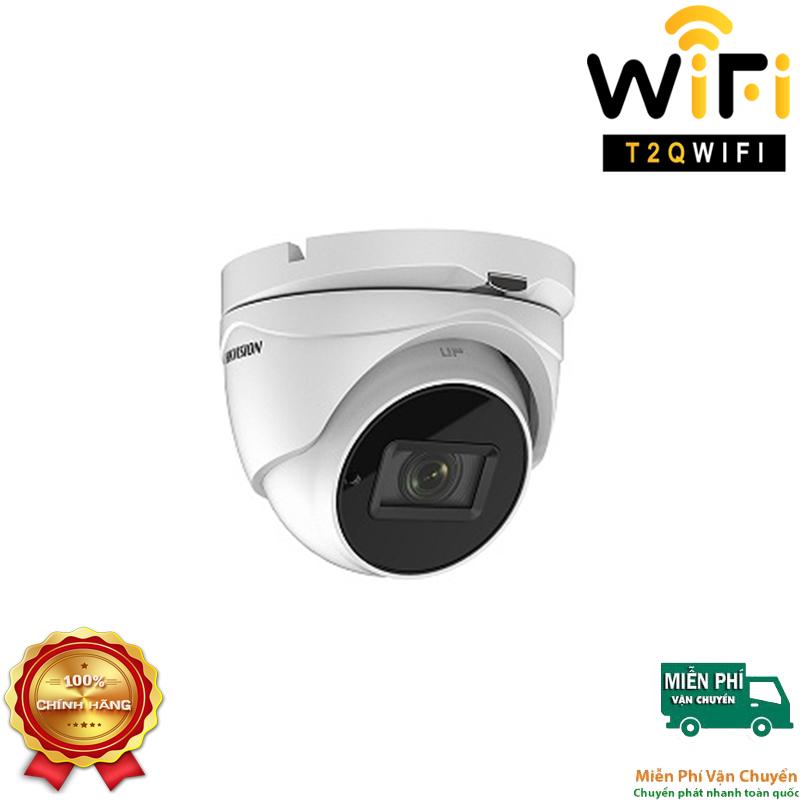 Camera HD-TVI Dome Hồng ngoại 5MP HIKVISION DS-2CE56H0T-IT3ZF