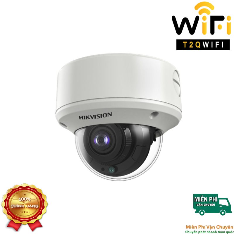 Camera HD-TVI Dome STARLIGHT 2MP HIKVISION DS-2CE5AD3T-VPIT3ZF