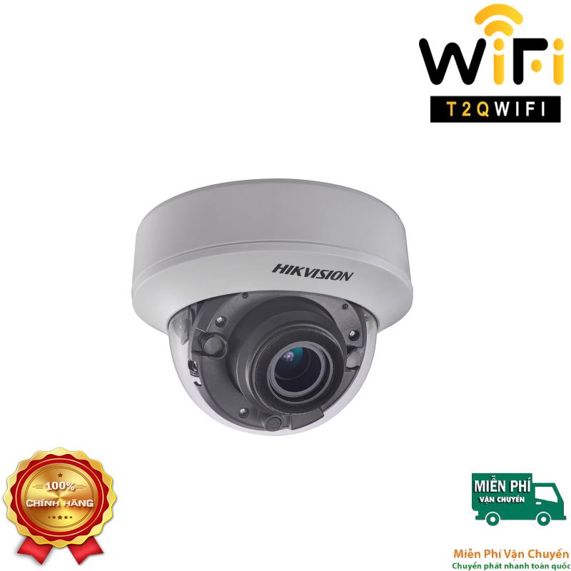 Camera HD-TVI Dome Hồng ngoại 5MP HIKVISION DS-2CE5AH0T-VPIT3ZF
