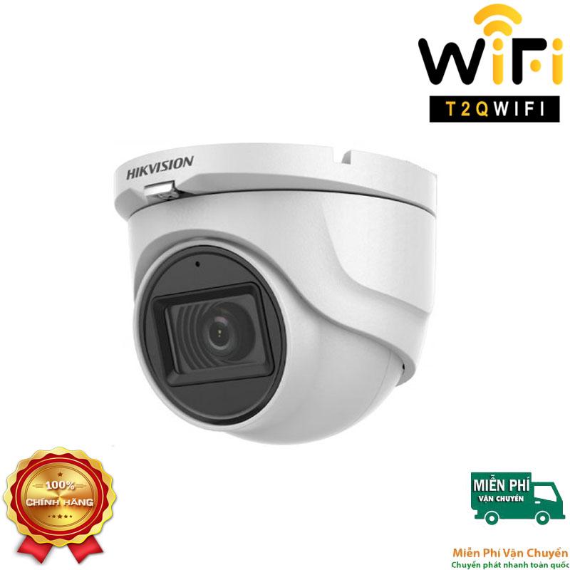 Camera HD-TVI Dome TÍCH HỢP MIC 2MP HIKVISION DS-2CE76D0T-ITMFS