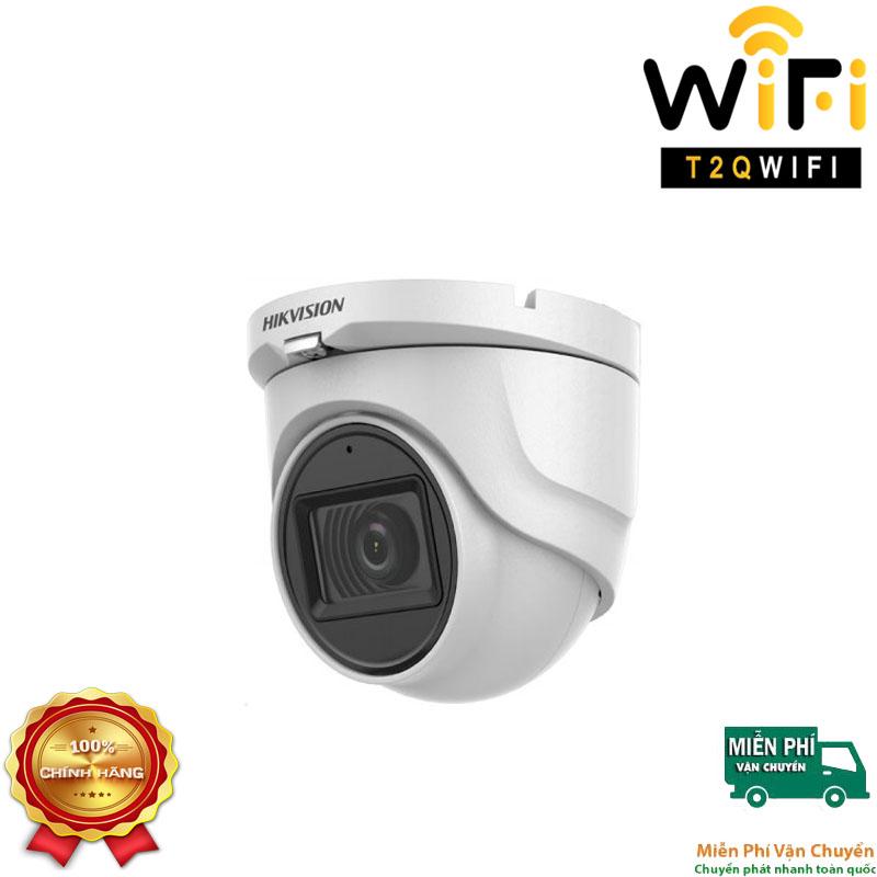 Camera HD-TVI Dome TÍCH HỢP MIC 5MP HIKVISION DS-2CE76H0T-ITPFS