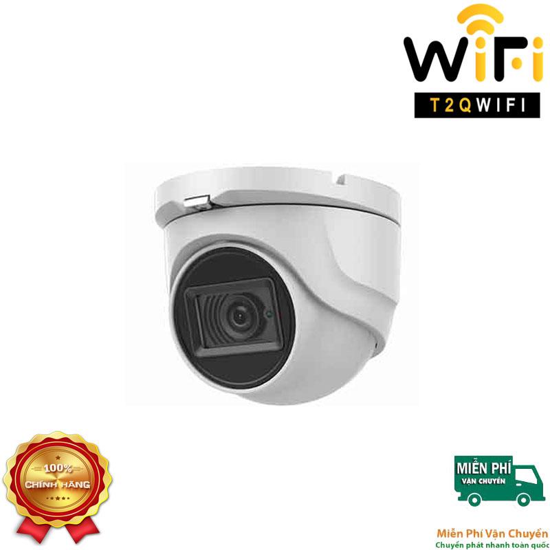 Camera HD-TVI Dome Hồng ngoại 8MP HIKVISION DS-2CE76U1T-ITMF