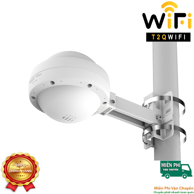 Thiết bị phát sóng WiFi Ruijie RG-EAP602 bộ phát WiFi ngoài trời, hỗ trợ 164 người dùng, tốc cao 1.167Gbps