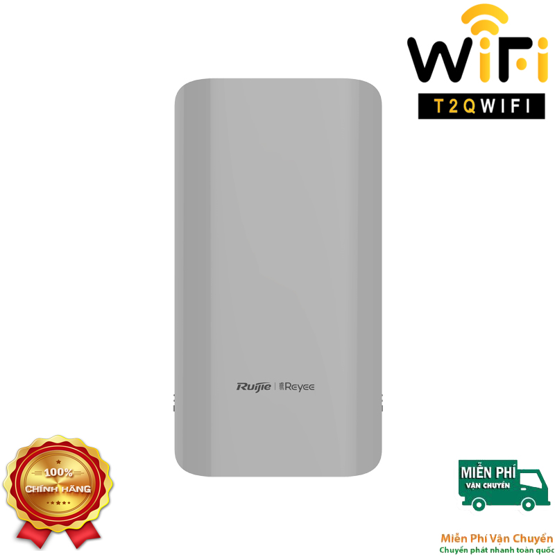 Thiết bị Wifi bắn điểm Point-to-Point Ruijie RG-EST310, Tốc độ lên đến 867 Mbps.
