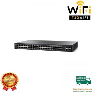 CISCO SG220-52P, 48-port Gigabit PoE+2-port Combo (RJ-45+SFP) Smart Switch