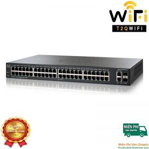 CISCO SG250-50-K9-EU,  48-port Gigabit+2-port Combo (RJ-45+SFP) Smart Switch