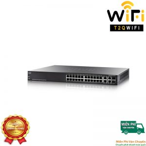 CISCO SF350-28MP-K9-EU,24-port PoE+ Gigabit with 382W power budget+2 Gigabit copper/SFP combo+2 SFP ports Managed Switch