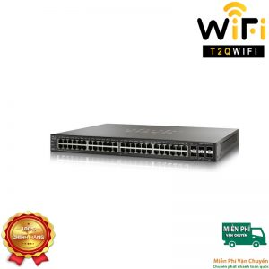 CISCO SG350X-48-K9, 48-port Gigabit Stackable Managed Switch
