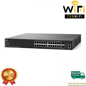 CISCO SG550X-24-K9, 24 Gigabit ports + 4 x 10 Gigabit Ethernet, Managed Switch