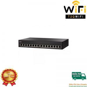 CISCO SG95-16, Switch 16-Port 10/100/1000 Gigabit Unmanaged