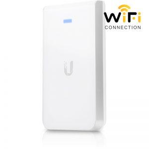 Thiết bị phát sóng WiFi UniFi AP-AC-In-Wall, hỗ trợ 40 kết nối, hỗ trợ tính năng 2x2 MIMO