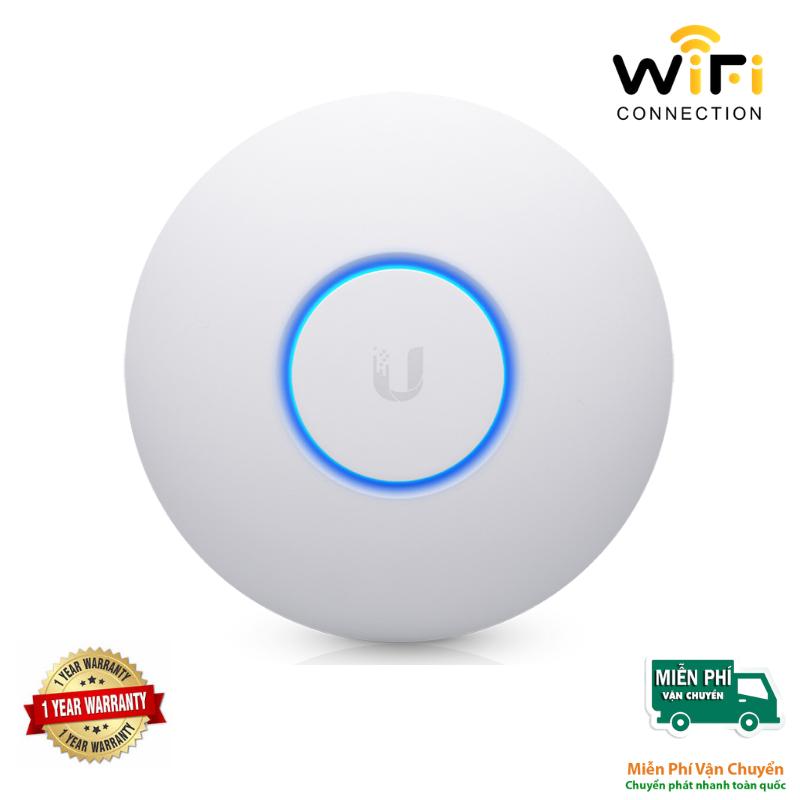 Thiết bị phát sóng WiFi UniFi UAP-NanoHD chịu tải cao 200 user, hỗ trợ tính năng 4x4 Wave 2 MU-MIMO
