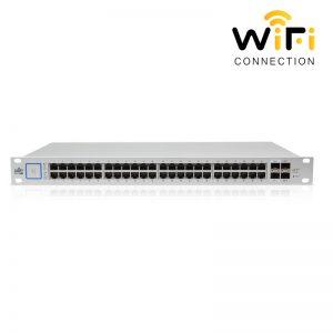 Thiết bị mạng Ubiquiti UniFi Switch US-48-500W, PoE + 48 Cổng mạng tốc độ 1G+2 Cổng quang SFP++2 Cổng quang SFP+1 Cổng Serial Console