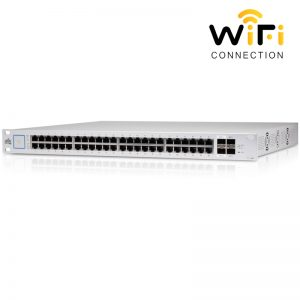 Thiết bị mạng Ubiquiti UniFi Switch US-48-750W, PoE + 48 Cổng mạng tốc độ 1G+2 Cổng quang SFP++2 Cổng quang SFP+1 Cổng Serial Console