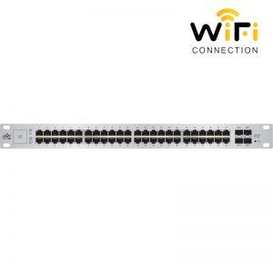 Thiết bị mạng Ubiquiti UniFi Switch US-48, 48 Cổng mạng tốc độ 1G + 2 Cổng quang SFP + 2 cổng quang SFP+ + 1 Cổng Serial Console