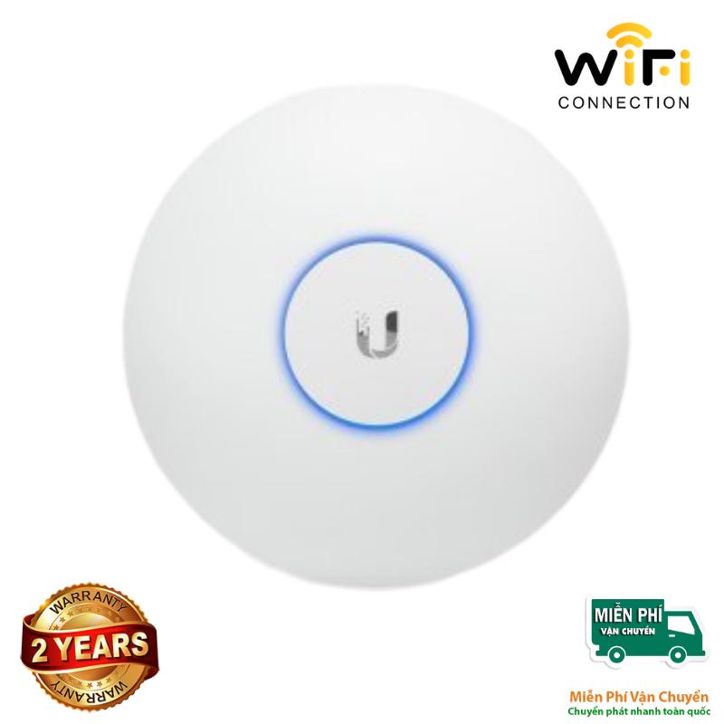 Thiết bị phát sóng WiFi UniFi UAP-AC-Pro chịu tải cao 150 user, sử dụng công nghệ 3x3 MIMO