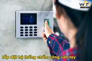He thong may cham cong van tay