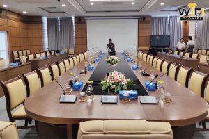 Tiến hành lắp đặt hệ thống hội nghị trực tuyến
